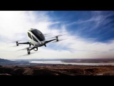 Primeiro Carro Voador Taxi com Piloto Automático do Mundo