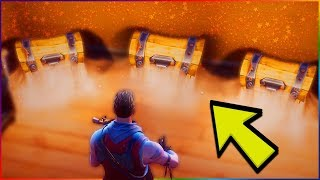 TOP HIDDEN / SECRET Chest Locations & Spawns (Fortnite Battle Royale) Legendary Loot | Tips & Tricks