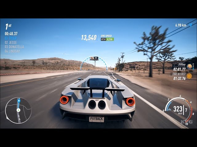 Need For Speed Payback Ford Gt Test Drive Gameplay Pc Hd