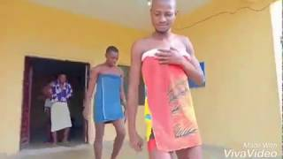 Necked Guys Dancing Soapy Dance By Naira Marley