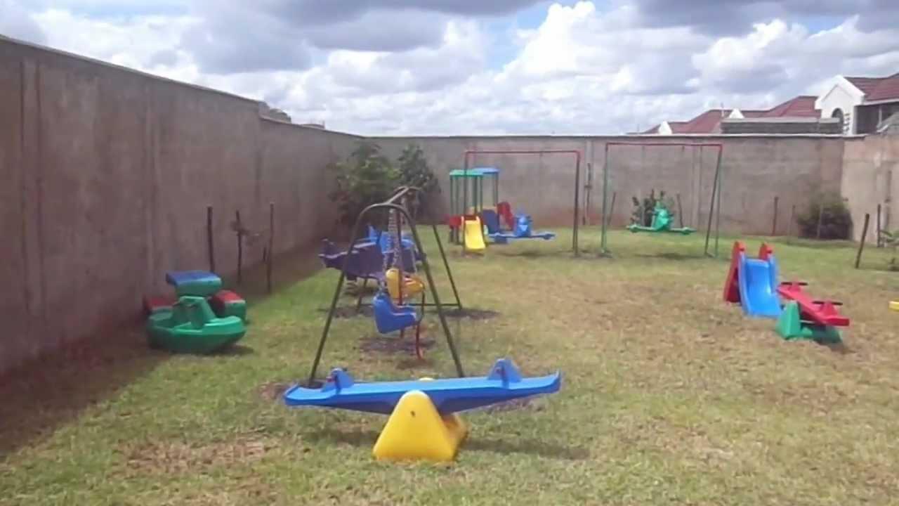 playground equipment at amusement park in kitengela youtube