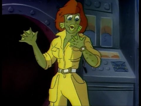TMNT - April O'Neil Fish Transformation