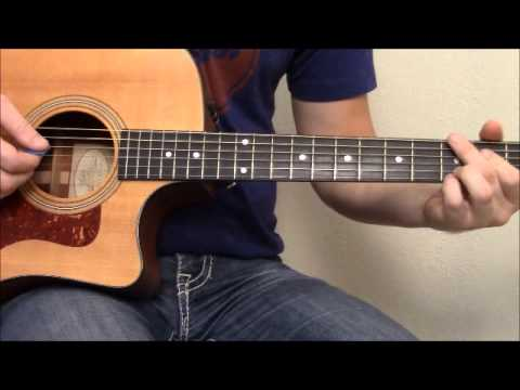 God Gave Me You (Blake Shelton) Guitar Lesson