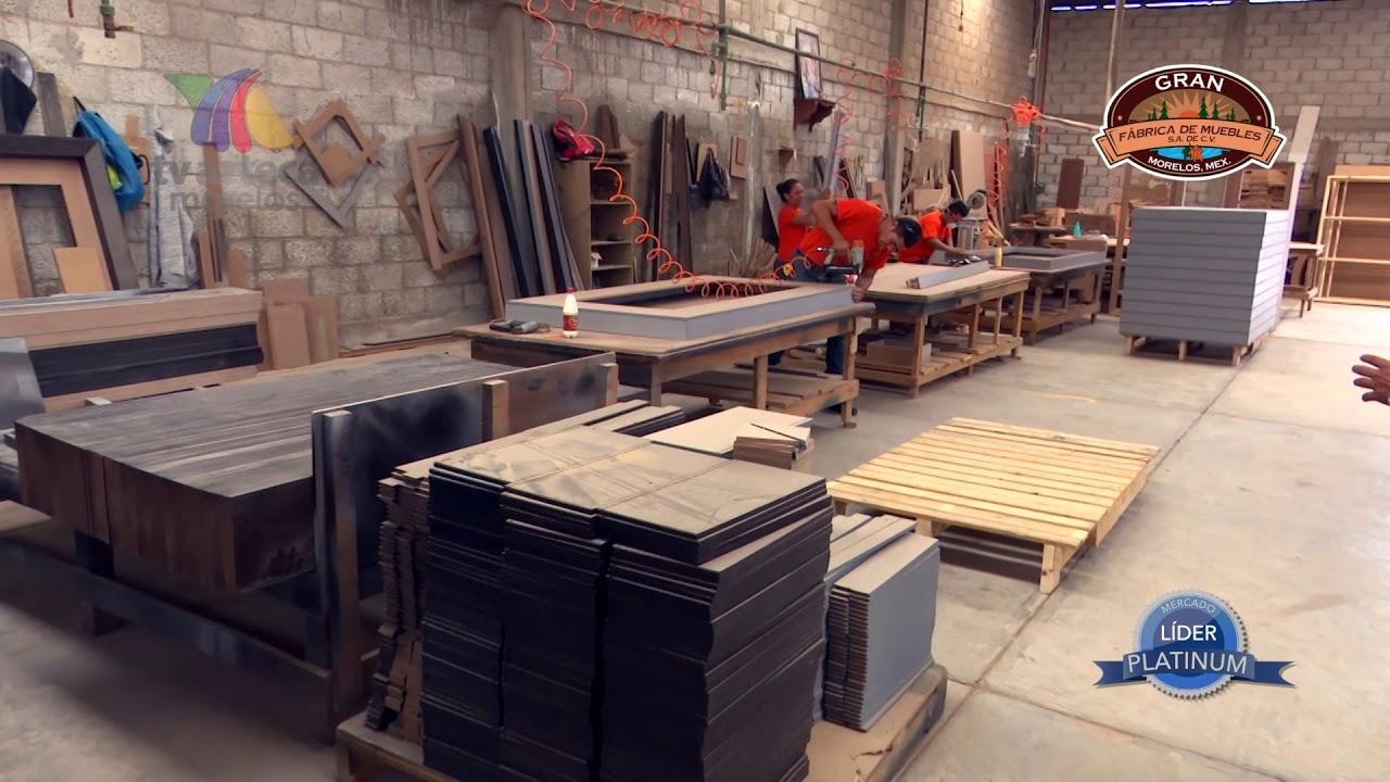 Gran f brica de muebles s a de c v morelos m xico somos fabricantes youtube - Fabricas de muebles en yecla ...