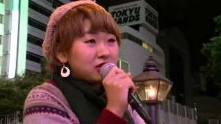 ストーリー かとうあいさん ストリートライブ 2013.11.19 at ZARA前(心斎橋) 加藤あい 動画 26