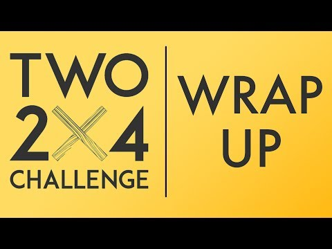 #two2x4challenge Wrap Up | Modern Maker Podcast