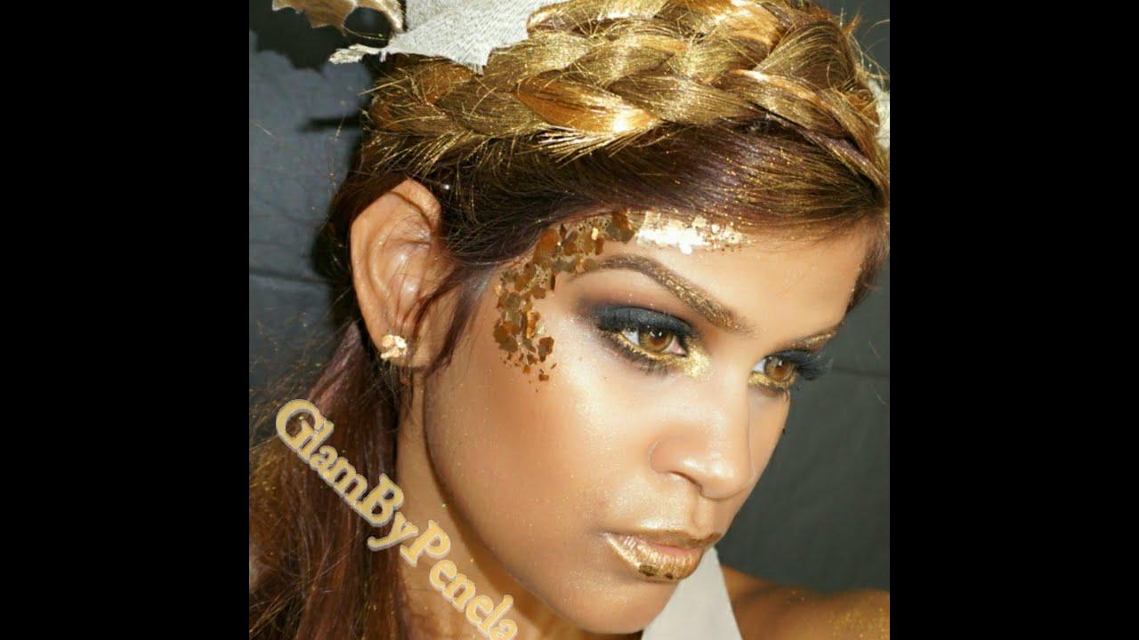 griega maquillaje