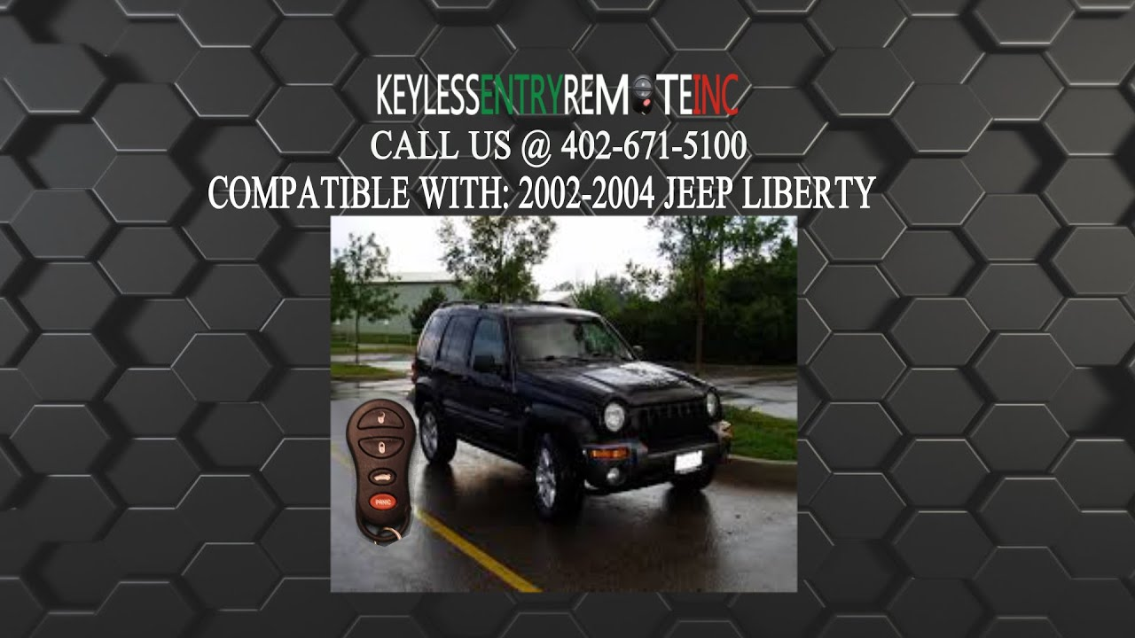 How To Replace Jeep Liberty Key Fob Battery 2002 2004