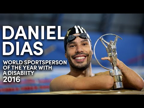 Laureus World Sportsperson of the Year with a Disability 2016 - Daniel Dias
