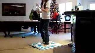 ddr on the Wii=]