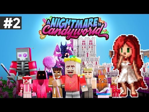 GUMMY WAR! - Episode 2 - A Nightmare in Candy World [Minecraft Adventure map by: Everbloom studios]