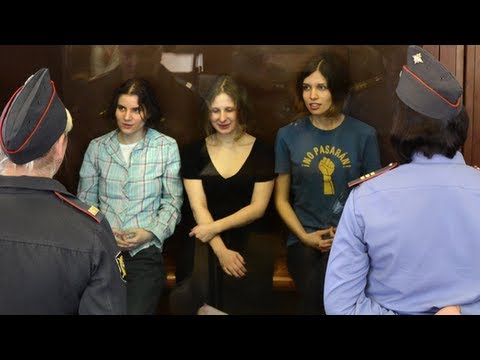 Pussy Riot Guilty! Two Years in Jail!