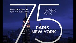 75 years New York    AirFrance