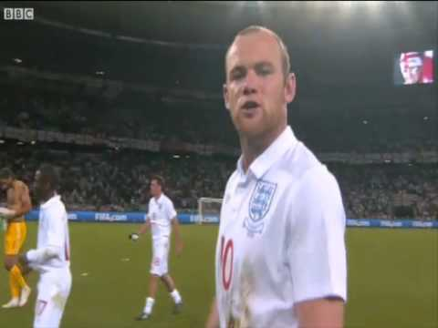 World Cup 2010: Wayne Rooney blasts booing England fans after drawing to Algeria.