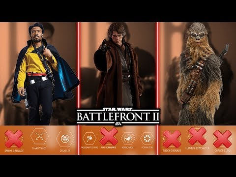 TOP 10 WORST HERO ABILITIES 2019! Star Wars Battlefront 2 thumbnail