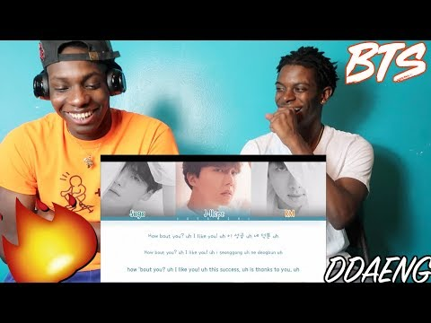 BTS RM, SUGA, J-HOPE - DDAENG - REACTION