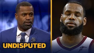 Stephen Jackson reacts to Curry's record night in GM 2 blowout over LeBron's Cavs | NBA | UNDISPUTED