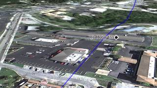 Branson Tornado Path 3D Flyover Tour