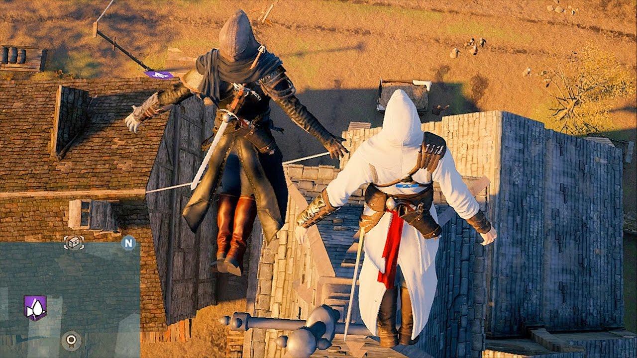 assassins creed unity co op free roam