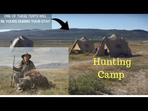 Watch this luxury musk ox hunting camp in Greenland, before booking. Major Hunting Greenland