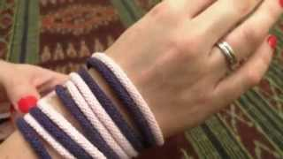 Prosty Komin zrobiony na rękach /robiony rękoma /arm knitting /armstricke /pleteme rukama / motanie