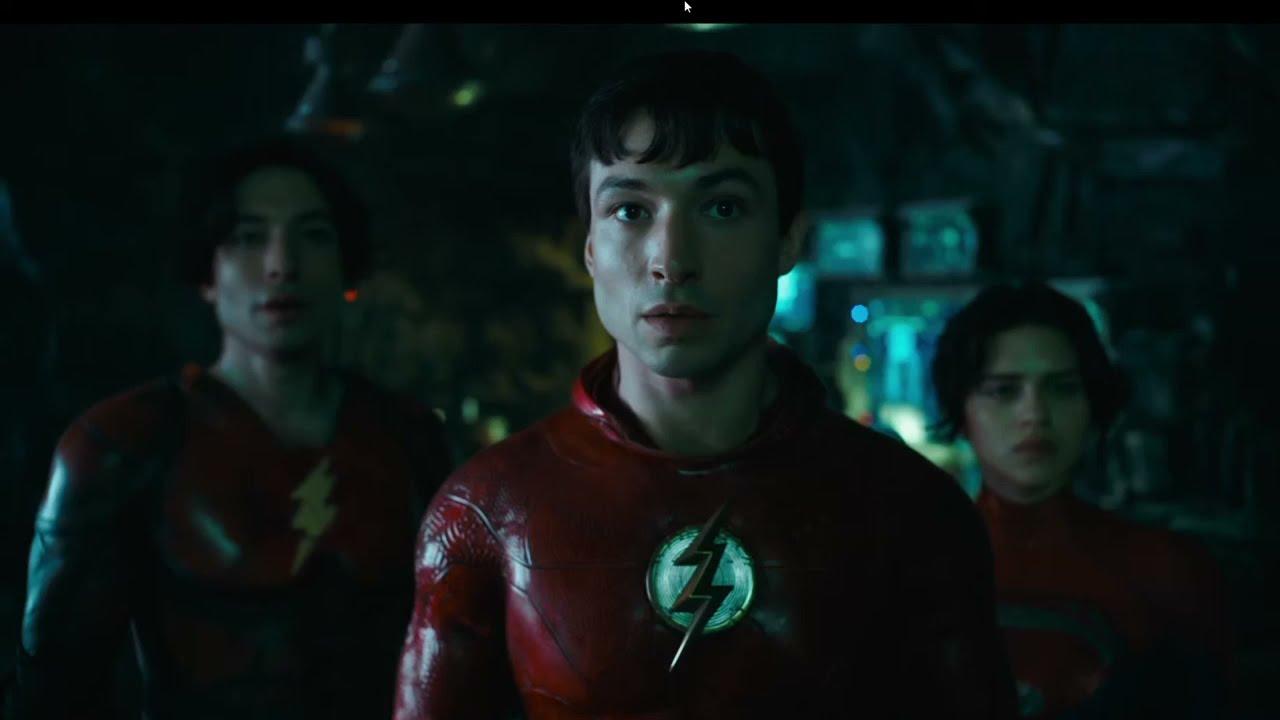 The Flash teaser met Ezra Miller