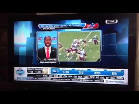 EJ Manuel NFL Network interview