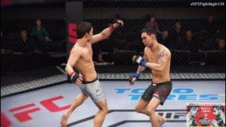 UFC® Fight Night 139 | Joseph Benavidez vs. Ray Borg | Fight Simulation