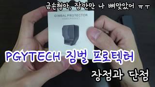 PGYTECH의 오즈모 포켓 케이스  장점과 단점 리뷰