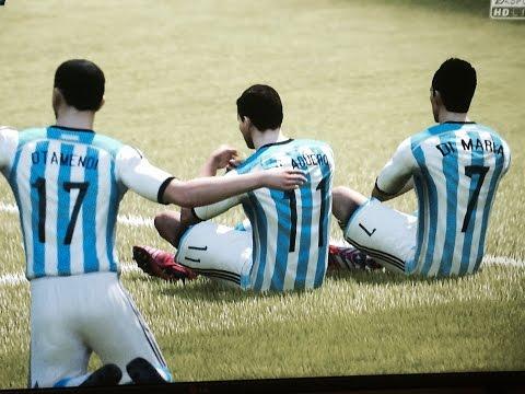Aguero,Messi,Pogba,Di Maria,Argentina,fifa15,best,goals,gameplay,ps4,Xbox one,