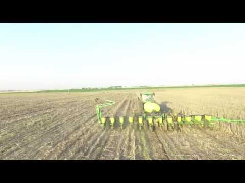 Planting Grain Sorghum - Peterson Family Farm (Filmed with DJI Phantom 3)