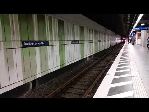 S-Bahn Frankfurt - Station Frankfurt HBF