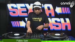 DJ Fábio San - Eurodance - Programa Sexta Flash - 13.07.2018