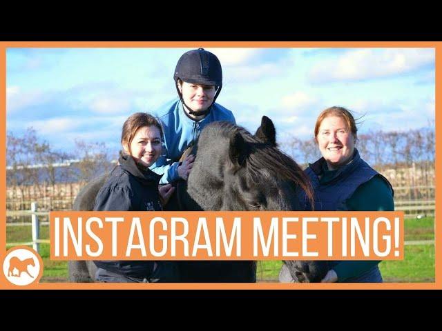 Paardenmeeting met instagrammers Snuffelcaleb en Outsiderider!