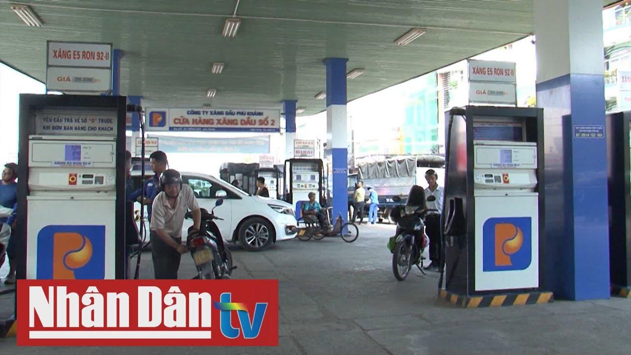 Giá xăng dầu giảm nhẹ từ 15h chiều 29-2