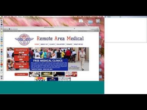 National Primary Care Week Webinars: Remote Area Medical Webinar, Stan Brock