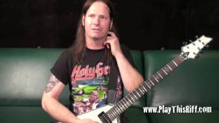 "EXODUS ""Deathamphetamine"" guitar lesson"