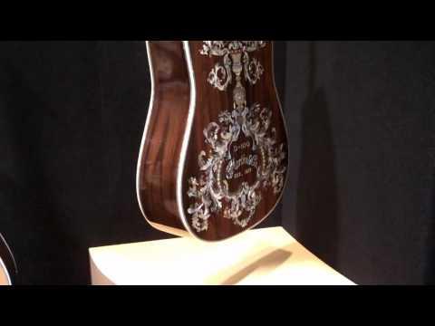 Martin D-100 Deluxe $110,000 Guitar NAMM 2010