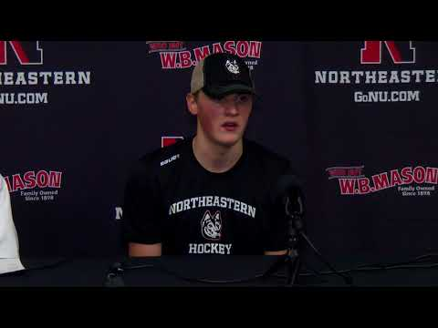 Northeastern Men's Hockey vs  Vermont | Postgame Press Conference | Nov  17, 2017