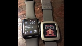 Do I keep the Apple Watch or Pebble Time?