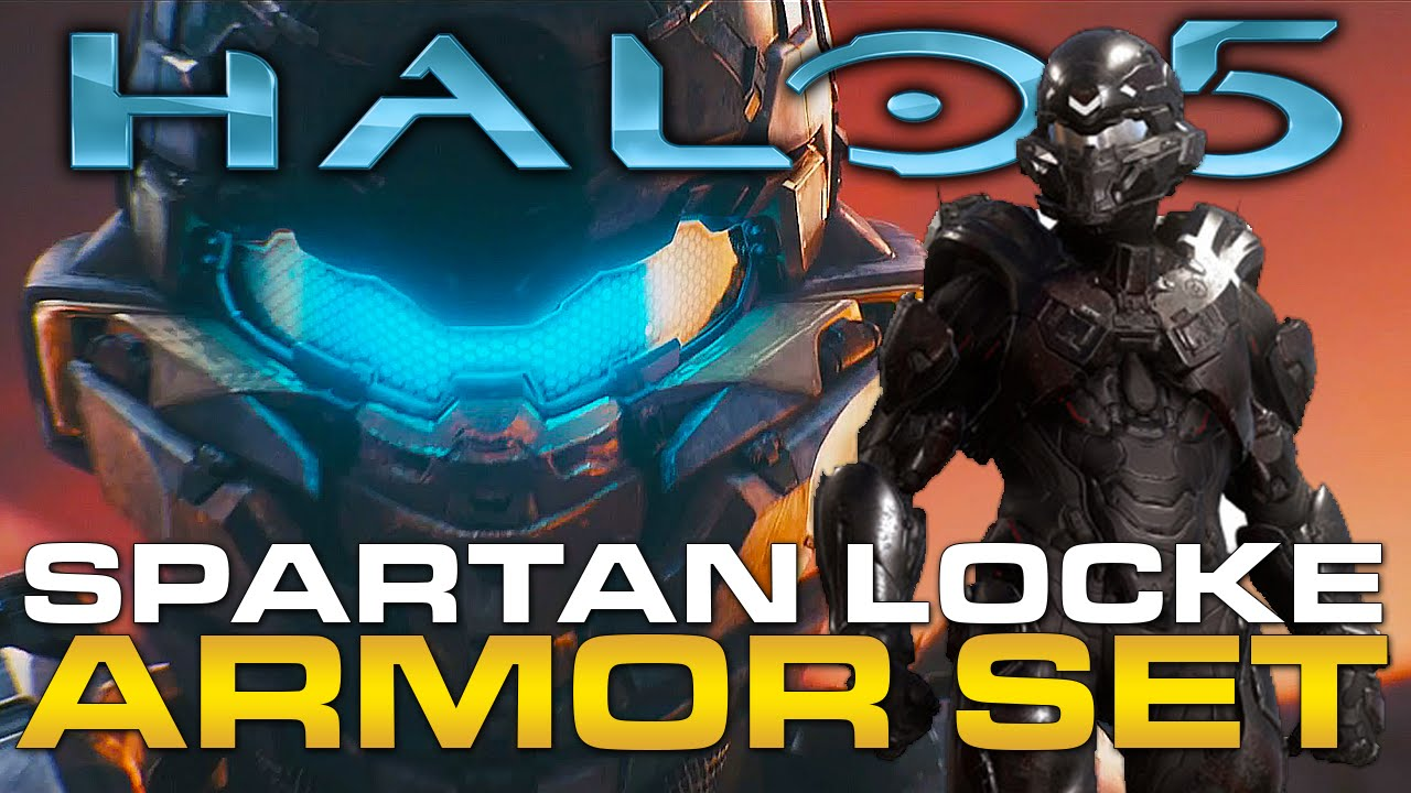 Halo 5 Guardians Spartan Locke Armor Set (Gamestop Pre-Order Bonus