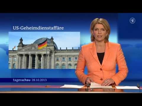 ARD Tagesschau  NSA Spionage  Untersuchungsausschuss soll für Aufklärung sorgen   28.10.2013