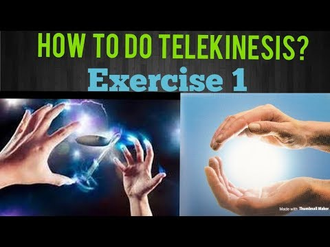 How To Do Telekinesis? Exercise 1 | Tamil | | Tamil Ulagam | | TU |