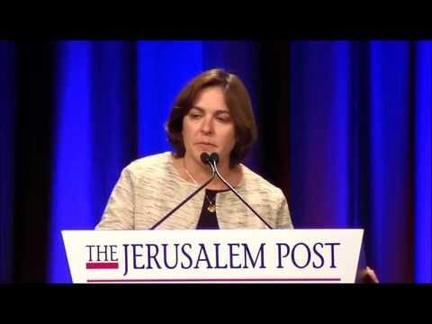 Caroline Glick at the 2017 Jerusalem Post Annual Conference