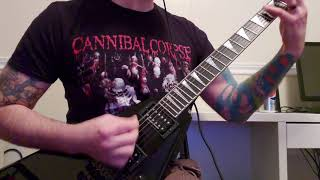 Anthrax - Misery Loves Company (guitar cover)