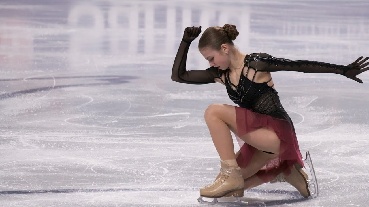 Alexandra Trusova - Russian Nationals 2021 - FS / Трусова - ЧР 2021 - ПП -  26-12-2020 - YouTube