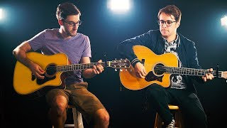 GREEN DAY - Boulevard of Broken Dreams ACOUSTIC COVER Nick Warner, Frank Moschetto