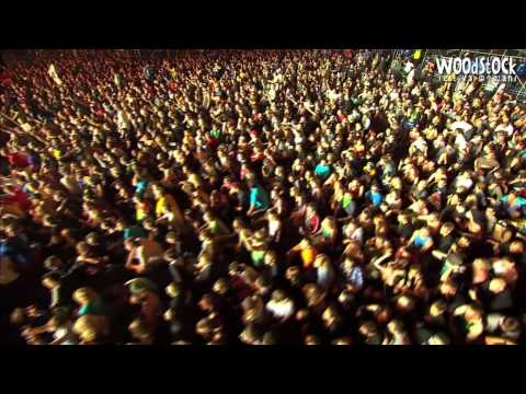The Qemists Live - Stompbox + Spor remix - Woodstock 2012