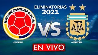 COLOMBIA vs ARGENTINA EN VIVO ELIMINATORIAS MUNDIAL QATAR 2022
