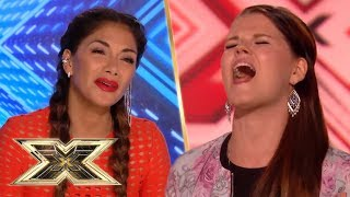 Saata Aalto swings into a pitch perfect performance of SIA'S CHANDELIER | The X Factor UK